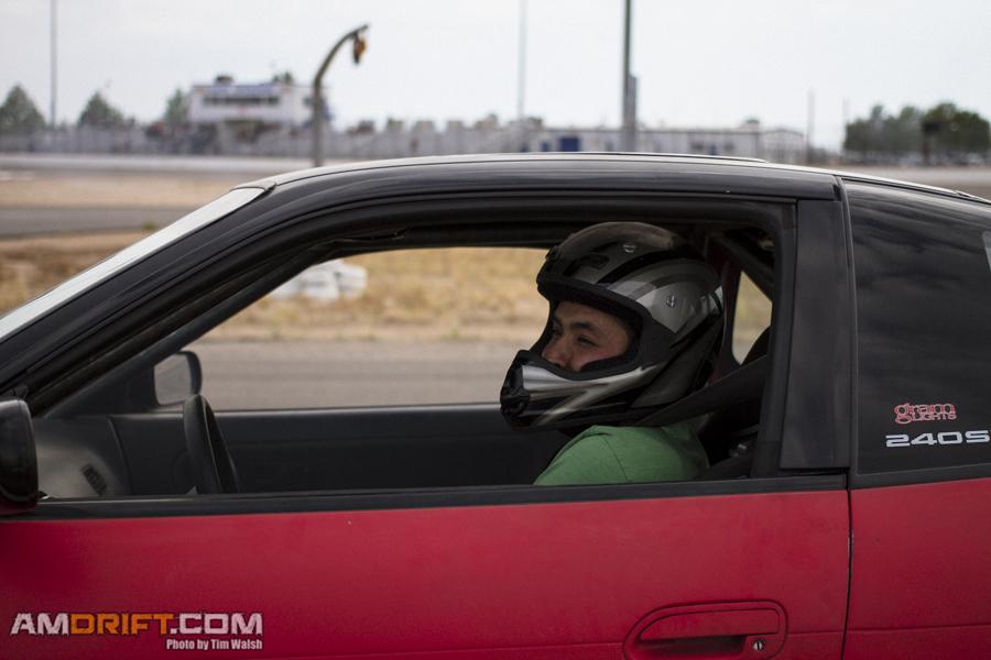 Darren in-car